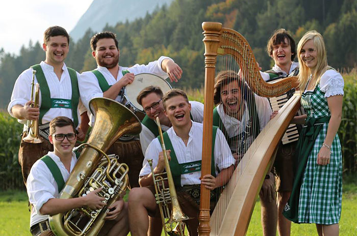 live music at Hohe Mut Alm, Tyrol